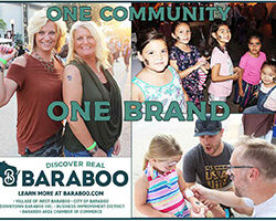 Discover Real Baraboo brand ad