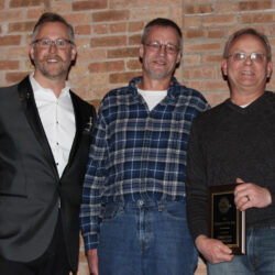 Coffee shop owners accept Baraboo Chamber award